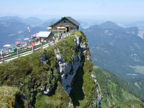 Foto: hofchri / Wander Tour / Schafberg (1782 m) von Winkl / bewirtschaftete Himmelspfortehütte / 28.02.2009 19:26:48