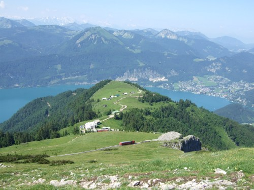 Foto: hofchri / Wander Tour / Schafberg (1782 m) von Winkl / die Schafbergalm / 28.02.2009 19:23:00