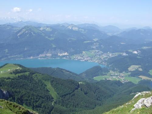 Foto: hofchri / Wander Tour / Schafberg (1782 m) von Winkl / grandiose Aussicht - Wolfgangsee / 28.02.2009 19:25:30