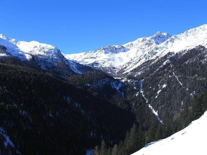 Foto: Andreas Koller / Ski Tour / Flimspitze (3113m) - Skidreitausender par excellence / Das hintere Ultental / 02.03.2009 19:39:52
