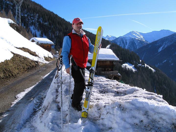 Foto: Andreas Koller / Ski Tour / Flimspitze (3113m) - Skidreitausender par excellence / Ausgangspunkt Jochmoarhöfe / 02.03.2009 19:39:37