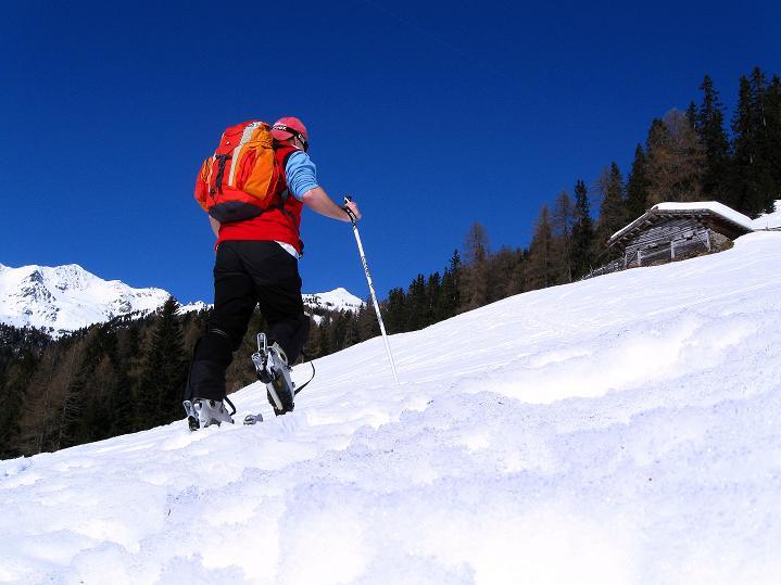 Foto: Andreas Koller / Ski Tour / Flimspitze (3113m) - Skidreitausender par excellence / 02.03.2009 19:39:22