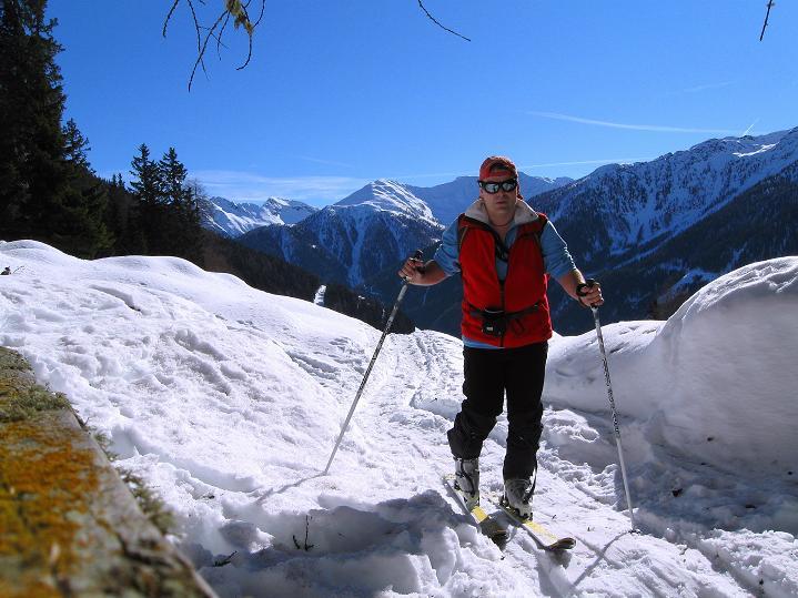 Foto: Andreas Koller / Ski Tour / Flimspitze (3113m) - Skidreitausender par excellence / 02.03.2009 19:39:11