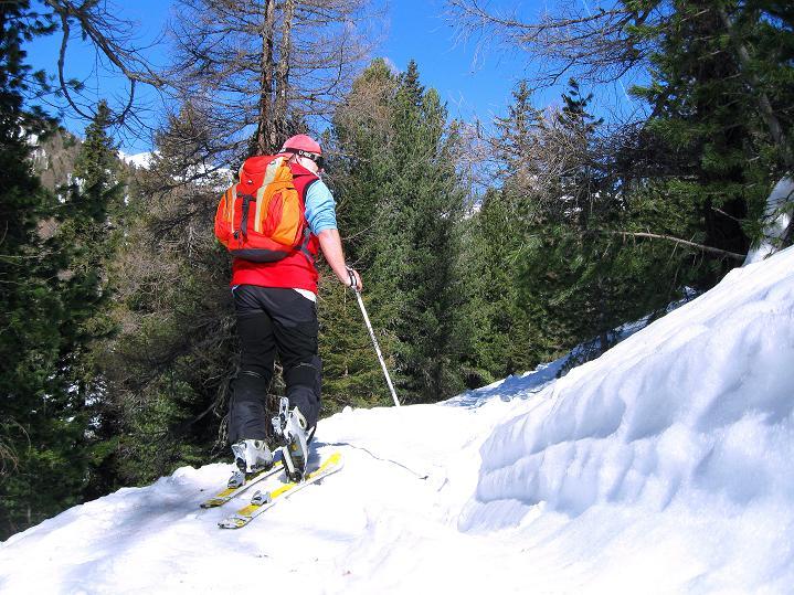 Foto: Andreas Koller / Ski Tour / Flimspitze (3113m) - Skidreitausender par excellence / 02.03.2009 19:38:56