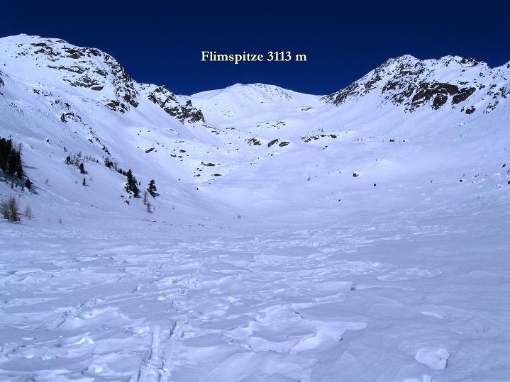 Foto: Andreas Koller / Ski Tour / Flimspitze (3113m) - Skidreitausender par excellence / 02.03.2009 19:38:10