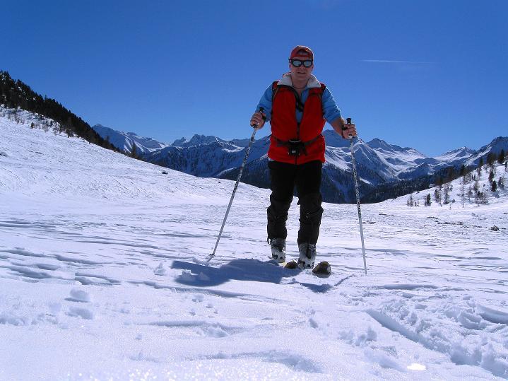 Foto: Andreas Koller / Ski Tour / Flimspitze (3113m) - Skidreitausender par excellence / 02.03.2009 19:38:03