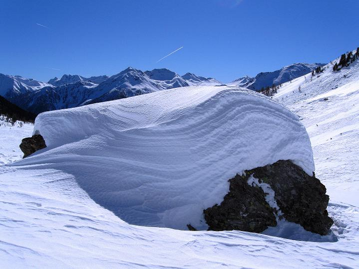 Foto: Andreas Koller / Ski Tour / Flimspitze (3113m) - Skidreitausender par excellence / 02.03.2009 19:37:44