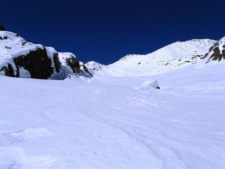 Foto: Andreas Koller / Ski Tour / Flimspitze (3113m) - Skidreitausender par excellence / 02.03.2009 19:37:26