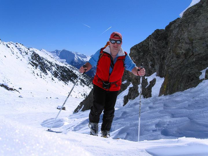 Foto: Andreas Koller / Ski Tour / Flimspitze (3113m) - Skidreitausender par excellence / 02.03.2009 19:37:08