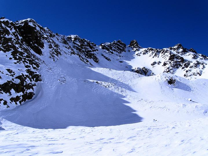 Foto: Andreas Koller / Ski Tour / Flimspitze (3113m) - Skidreitausender par excellence / 02.03.2009 19:36:59