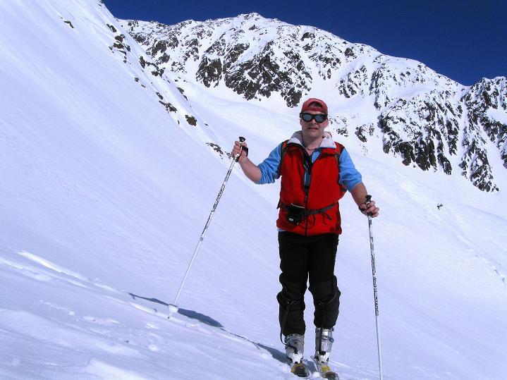 Foto: Andreas Koller / Ski Tour / Flimspitze (3113m) - Skidreitausender par excellence / Unter der Sonnenwand / 02.03.2009 19:36:28