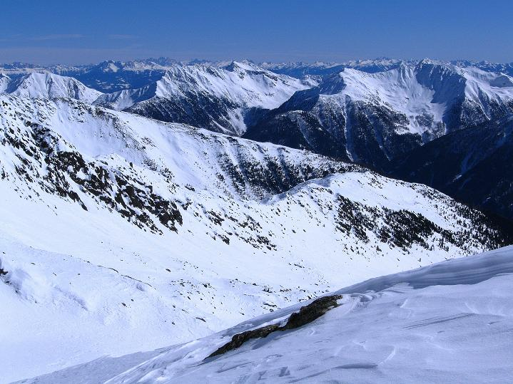 Foto: Andreas Koller / Ski Tour / Flimspitze (3113m) - Skidreitausender par excellence / Die Dolomiten im O / 02.03.2009 19:36:10
