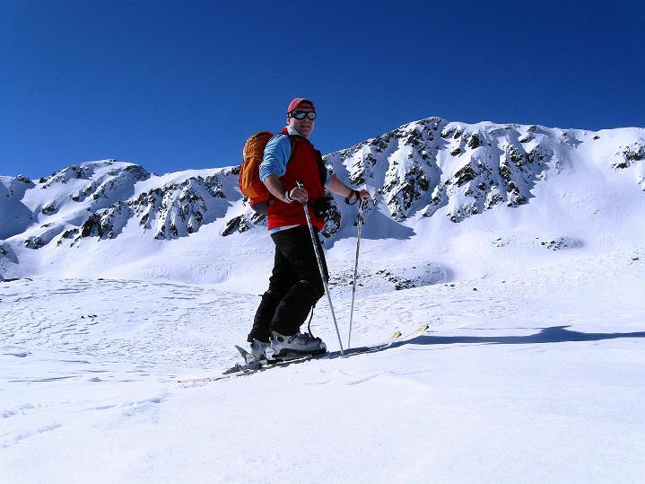Foto: Andreas Koller / Ski Tour / Flimspitze (3113m) - Skidreitausender par excellence / 02.03.2009 19:35:53