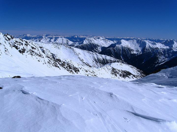 Foto: Andreas Koller / Ski Tour / Flimspitze (3113m) - Skidreitausender par excellence / Blick nach O in die Dolomiten / 02.03.2009 19:35:36