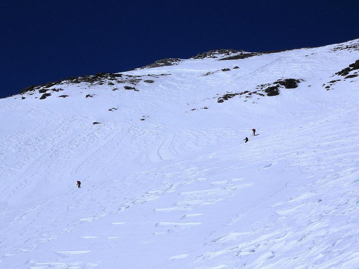 Foto: Andreas Koller / Ski Tour / Flimspitze (3113m) - Skidreitausender par excellence / Die weite Südflanke der Flimspitze / 02.03.2009 19:35:17