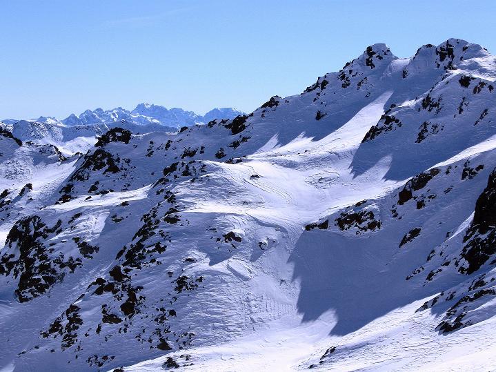 Foto: Andreas Koller / Ski Tour / Flimspitze (3113m) - Skidreitausender par excellence / Die Brenta / 02.03.2009 19:34:46