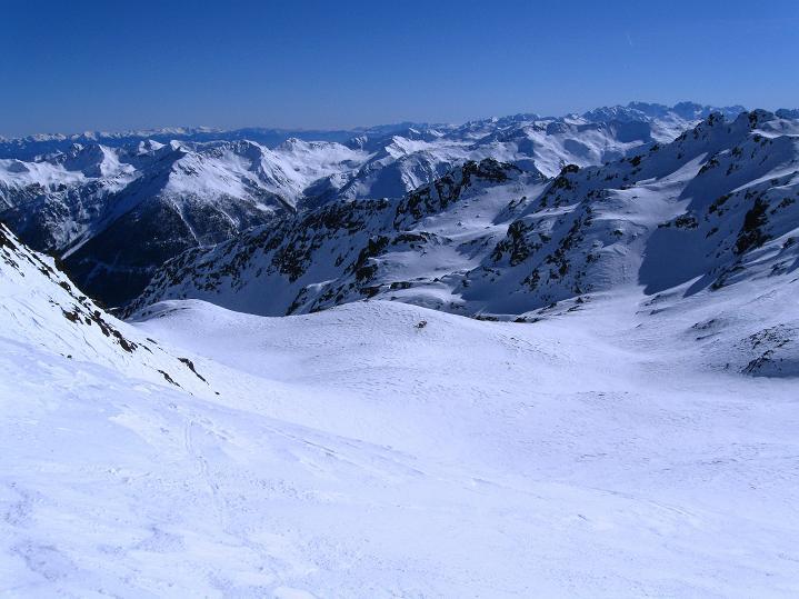 Foto: Andreas Koller / Ski Tour / Flimspitze (3113m) - Skidreitausender par excellence / 02.03.2009 19:32:13
