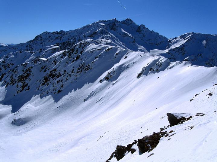 Foto: Andreas Koller / Ski Tour / Flimspitze (3113m) - Skidreitausender par excellence / Zufrittspitze (3439 m) / 02.03.2009 19:31:30