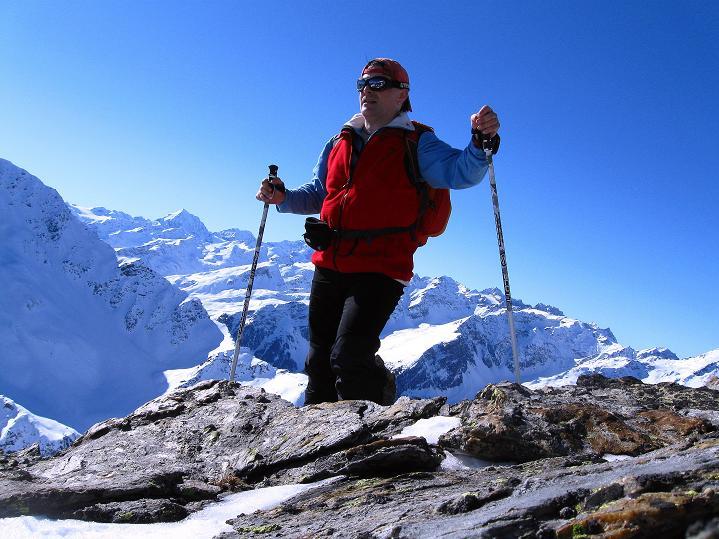 Foto: Andreas Koller / Ski Tour / Flimspitze (3113m) - Skidreitausender par excellence / 02.03.2009 19:30:41