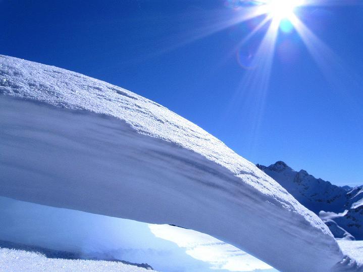 Foto: Andreas Koller / Ski Tour / Flimspitze (3113m) - Skidreitausender par excellence / 02.03.2009 19:28:42