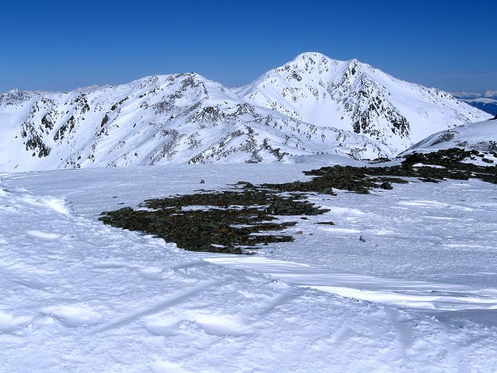 Foto: Andreas Koller / Ski Tour / Flimspitze (3113m) - Skidreitausender par excellence / Hasenöhrl (3257 m) und Kleines Hasenöhrl (3134 m) / 02.03.2009 19:27:06