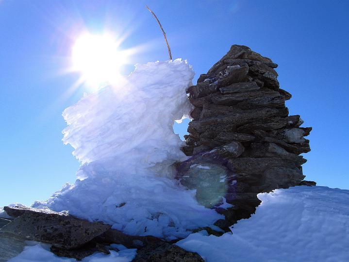 Foto: Andreas Koller / Ski Tour / Flimspitze (3113m) - Skidreitausender par excellence / 02.03.2009 19:26:33