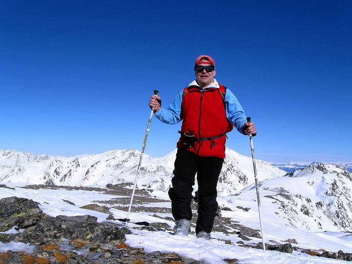Foto: Andreas Koller / Ski Tour / Flimspitze (3113m) - Skidreitausender par excellence / 02.03.2009 19:26:25