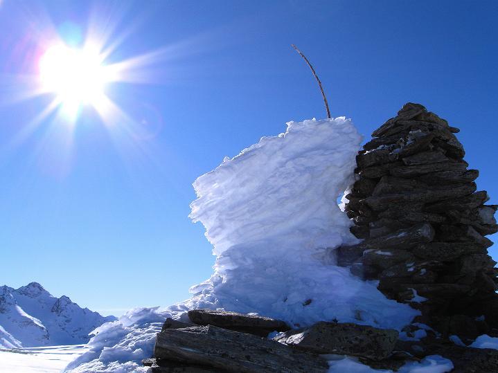 Foto: Andreas Koller / Ski Tour / Flimspitze (3113m) - Skidreitausender par excellence / 02.03.2009 19:25:59