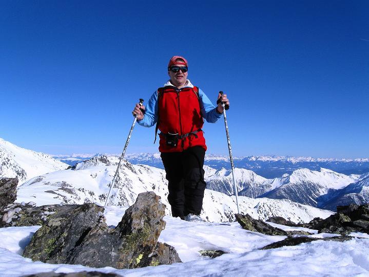 Foto: Andreas Koller / Ski Tour / Flimspitze (3113m) - Skidreitausender par excellence / 02.03.2009 19:25:52