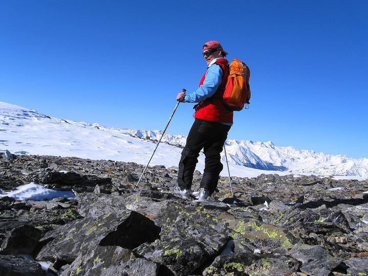 Foto: Andreas Koller / Ski Tour / Flimspitze (3113m) - Skidreitausender par excellence / 02.03.2009 19:25:42