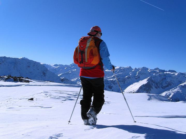 Foto: Andreas Koller / Ski Tour / Flimspitze (3113m) - Skidreitausender par excellence / 02.03.2009 19:24:08