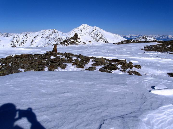 Foto: Andreas Koller / Ski Tour / Flimspitze (3113m) - Skidreitausender par excellence / Hasenöhrl (3257 m) / 02.03.2009 19:23:58