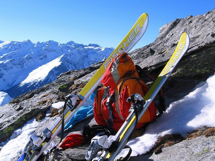 Foto: Andreas Koller / Ski Tour / Flimspitze (3113m) - Skidreitausender par excellence / 02.03.2009 19:22:50