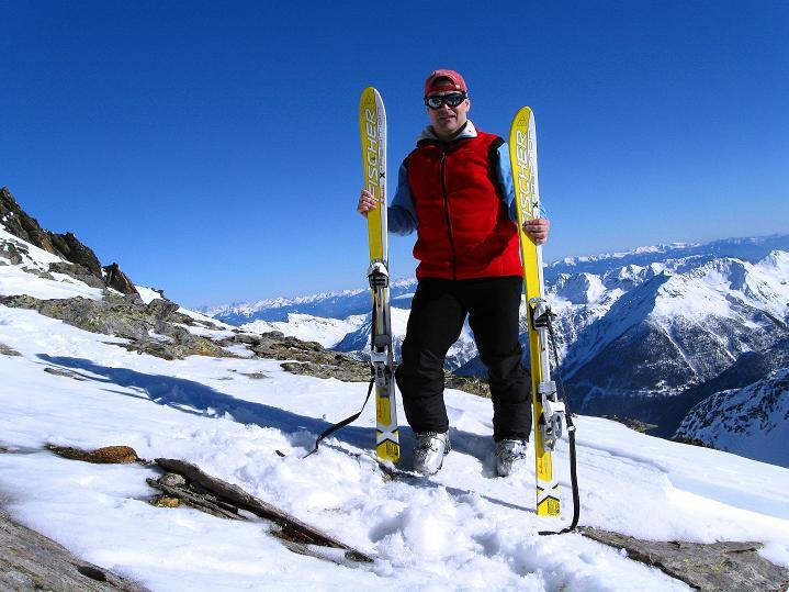Foto: Andreas Koller / Ski Tour / Flimspitze (3113m) - Skidreitausender par excellence / 02.03.2009 19:22:35