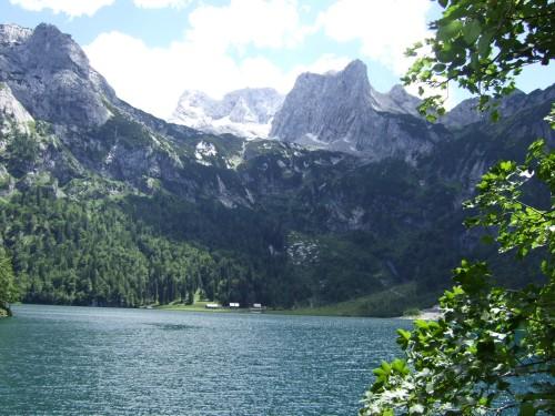 Foto: hofchri / Wander Tour / Vorderer und Hinterer Gosausee (1154 m) / Hinterer Gosausee / 07.03.2009 11:29:46