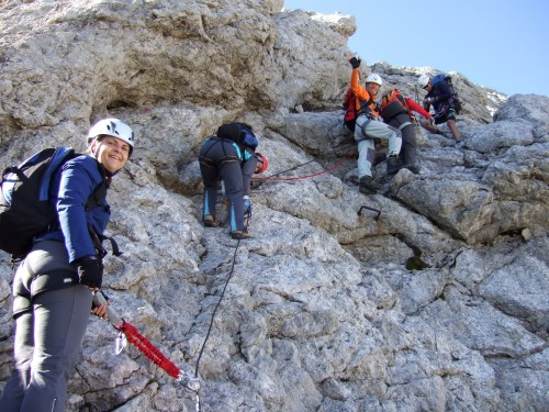 Klettersteig Ramsau : Fotogalerie tourfotos fotos zur klettersteig tour jubiläums und