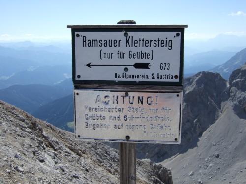 Foto: hofchri / Klettersteig Tour /