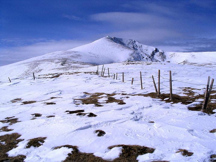 Foto: Andreas Koller / Skitour / Über den Geiger auf den Kilnprein (2408m) / Unser Ziel: der Kilnprein / 11.03.2009 21:07:12