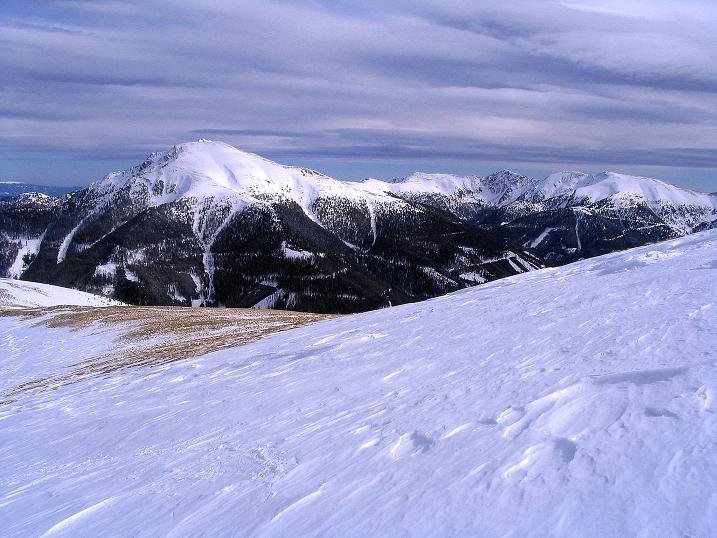Foto: Andreas Koller / Skitour / Über den Geiger auf den Kilnprein (2408m) / Der Eisenhut (2441 m) und die Gipfelrunde / 11.03.2009 21:04:24