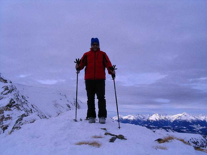 Foto: Andreas Koller / Skitour / Über den Geiger auf den Kilnprein (2408m) / Am Beginn des SO-Grats / 11.03.2009 21:03:10