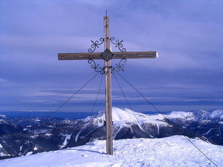 Foto: Andreas Koller / Skitour / Über den Geiger auf den Kilnprein (2408m) / 11.03.2009 20:59:36