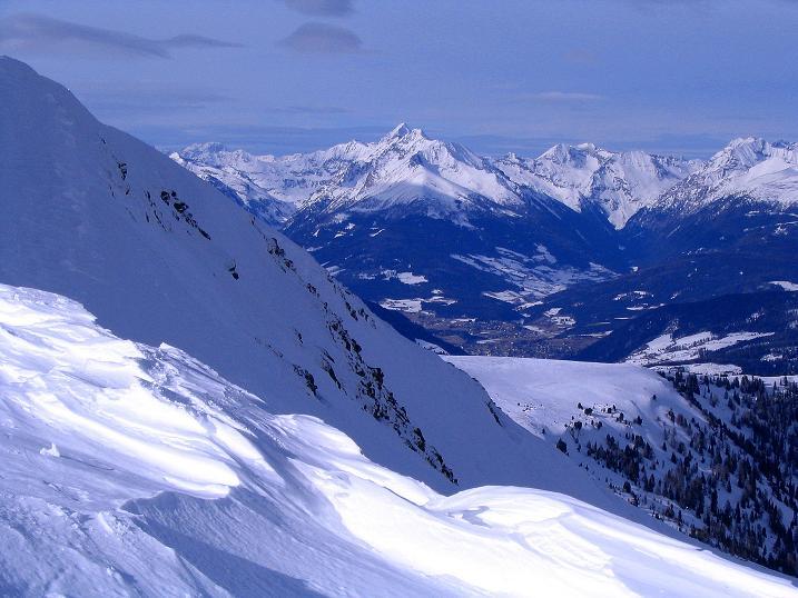 Foto: Andreas Koller / Skitour / Über den Geiger auf den Kilnprein (2408m) / Blick zu den Schladminger Tauern / 11.03.2009 20:59:27