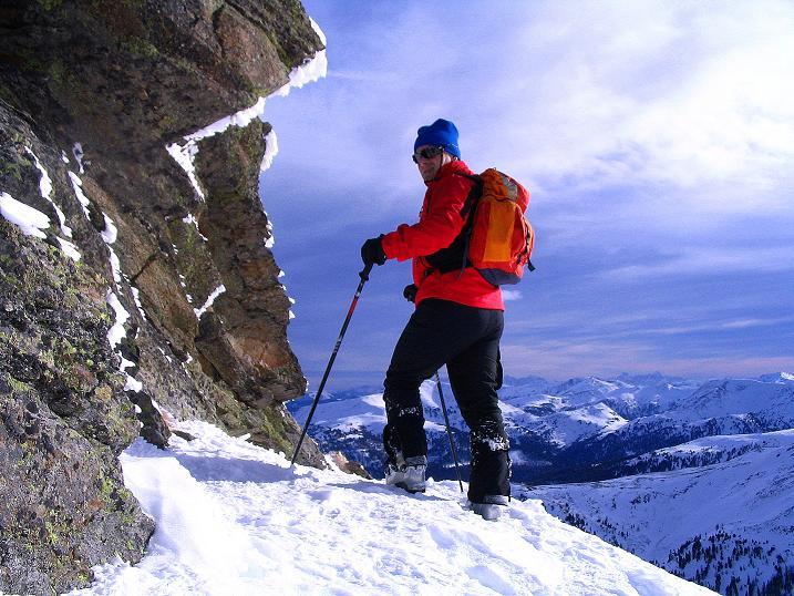 Foto: Andreas Koller / Skitour / Über den Geiger auf den Kilnprein (2408m) / Am SO-Grat / 11.03.2009 20:54:56