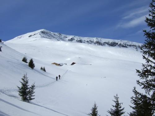 Foto: hofchri / Ski Tour / Kalkbretterkopf (2412m) von Angertal / am Weg zur Hochalm / 09.03.2009 20:05:20