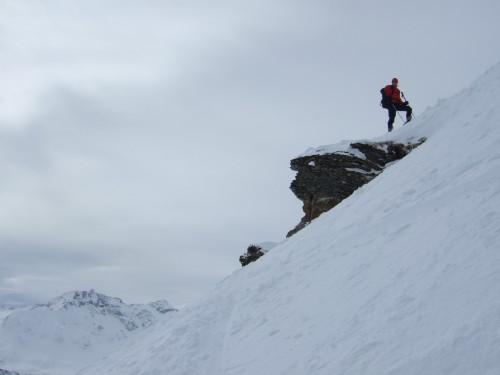 Foto: hofchri / Ski Tour / Kalkbretterkopf (2412m) von Angertal / kurzer, schwieriger Gipfelanstieg / 09.03.2009 20:05:28
