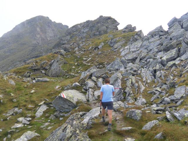 Foto: Wolfgang Lauschensky / Wander Tour / Auf das Große Gurpitscheck von Tweng aus / am langen Nordkamm / 25.08.2012 23:59:53