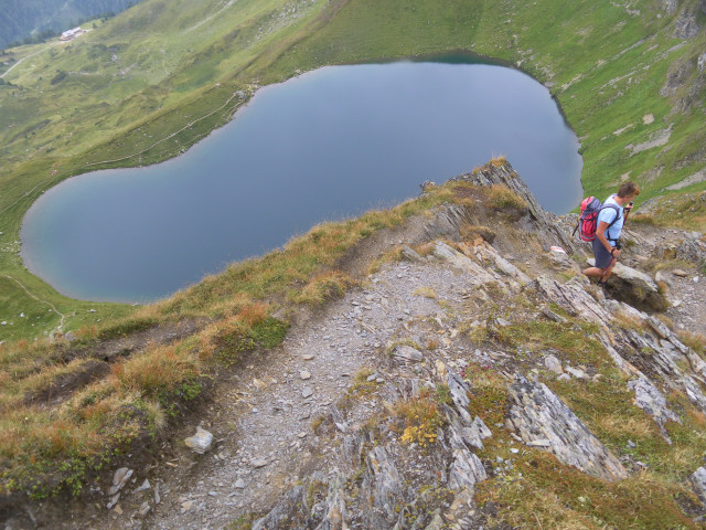 Foto: Wolfgang Lauschensky / Wander Tour / Auf das Große Gurpitscheck von Tweng aus / Nordrückenabstieg zum Twenger Almsee / 25.08.2012 23:58:07