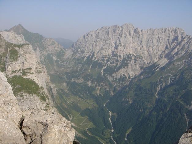 Foto: Manfred Karl / Klettersteig Tour / Cellon Via ferrata senza confine - Weg ohne Grenzen / Rauchkofel - Gamskofel - Mooskofel / 12.03.2009 21:37:55
