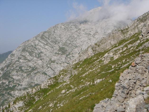 Foto: Manfred Karl / Klettersteig Tour / Cellon Via ferrata senza confine - Weg ohne Grenzen / Blick Richtung Kollinkofel / 12.03.2009 21:35:11