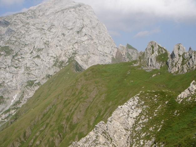 Foto: Manfred Karl / Klettersteig Tour / Cellon Via ferrata senza confine - Weg ohne Grenzen / Grüne Schneid / 12.03.2009 21:28:43